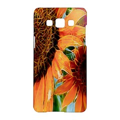 Sunflower Art  Artistic Effect Background Samsung Galaxy A5 Hardshell Case  by BangZart