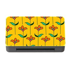 Small Flowers Pattern Floral Seamless Pattern Vector Memory Card Reader With Cf by BangZart