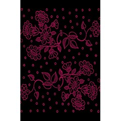 Pink Floral Pattern Background Wallpaper 5 5  X 8 5  Notebooks by BangZart