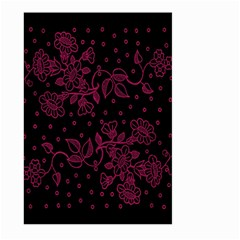 Pink Floral Pattern Background Wallpaper Large Garden Flag (two Sides) by BangZart