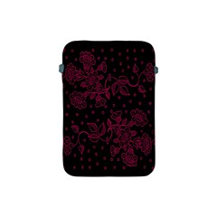 Pink Floral Pattern Background Wallpaper Apple Ipad Mini Protective Soft Cases by BangZart