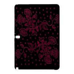 Pink Floral Pattern Background Wallpaper Samsung Galaxy Tab Pro 12 2 Hardshell Case by BangZart
