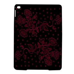 Pink Floral Pattern Background Wallpaper Ipad Air 2 Hardshell Cases