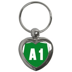 Autostrada A1 Key Chains (heart)  by abbeyz71