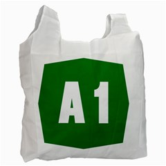 Autostrada A1 Recycle Bag (two Side)  by abbeyz71