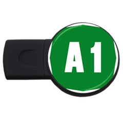 Autostrada A1 Usb Flash Drive Round (4 Gb) by abbeyz71