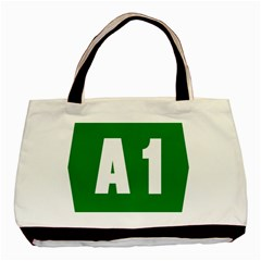 Autostrada A1 Basic Tote Bag (two Sides) by abbeyz71