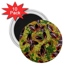 Cockroaches 2 25  Magnets (10 Pack)  by SuperPatterns
