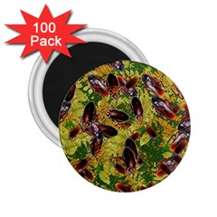 Cockroaches 2 25  Magnets (100 Pack)  by SuperPatterns