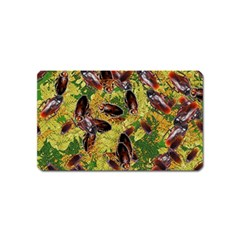 Cockroaches Magnet (name Card) by SuperPatterns