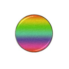 Metallic Rainbow Glitter Texture Hat Clip Ball Marker (10 Pack) by paulaoliveiradesign