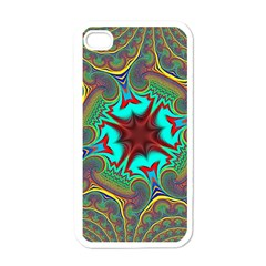 Hot Hot Summer A Apple Iphone 4 Case (white) by MoreColorsinLife