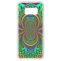 Hot Hot Summer B Samsung Galaxy S8 White Seamless Case by MoreColorsinLife