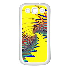 Hot Hot Summer C Samsung Galaxy S3 Back Case (white) by MoreColorsinLife