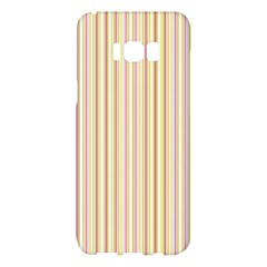 Stripes Pink And Green  Line Pattern Samsung Galaxy S8 Plus Hardshell Case