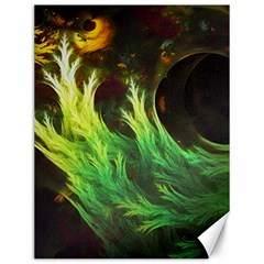 A Seaweed s Deepdream Of Faded Fractal Fall Colors Canvas 12  X 16   by jayaprime