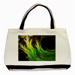 A Seaweed s Deepdream Of Faded Fractal Fall Colors Basic Tote Bag (two Sides) by jayaprime