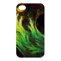 A Seaweed s Deepdream Of Faded Fractal Fall Colors Apple Iphone 4/4s Premium Hardshell Case by jayaprime