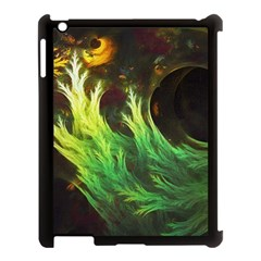 A Seaweed s Deepdream Of Faded Fractal Fall Colors Apple Ipad 3/4 Case (black) by jayaprime