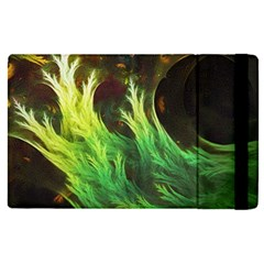 A Seaweed s Deepdream Of Faded Fractal Fall Colors Apple Ipad Pro 9 7   Flip Case by jayaprime