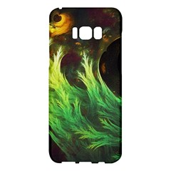 A Seaweed s Deepdream Of Faded Fractal Fall Colors Samsung Galaxy S8 Plus Hardshell Case  by jayaprime