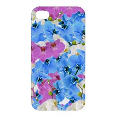 Tulips Flower Pattern Apple Iphone 4/4s Hardshell Case by paulaoliveiradesign