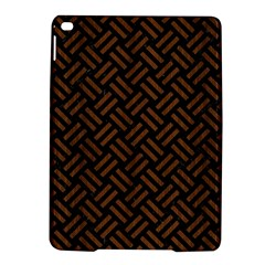 Woven2 Black Marble & Brown Wood Apple Ipad Air 2 Hardshell Case by trendistuff