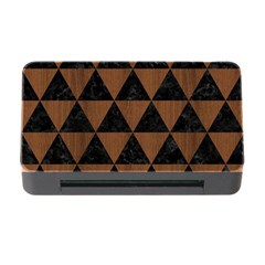 Triangle3 Black Marble & Brown Wood Memory Card Reader With Cf by trendistuff