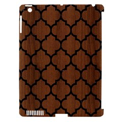 Tile1 Black Marble & Brown Wood (r) Apple Ipad 3/4 Hardshell Case (compatible With Smart Cover) by trendistuff