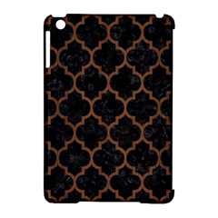 Tile1 Black Marble & Brown Wood Apple Ipad Mini Hardshell Case (compatible With Smart Cover) by trendistuff