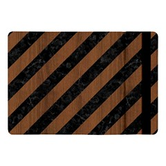 Stripes3 Black Marble & Brown Wood Apple Ipad Pro 10 5   Flip Case by trendistuff