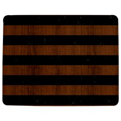 Stripes2 Black Marble & Brown Wood Jigsaw Puzzle Photo Stand (rectangular) by trendistuff