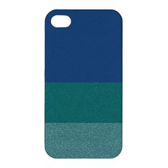 Blue Gradient Glitter Texture Pattern  Apple Iphone 4/4s Premium Hardshell Case by paulaoliveiradesign