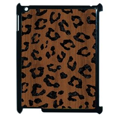 Skin5 Black Marble & Brown Wood Apple Ipad 2 Case (black) by trendistuff