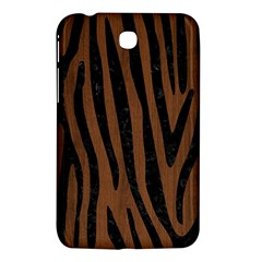 Skin4 Black Marble & Brown Wood Samsung Galaxy Tab 3 (7 ) P3200 Hardshell Case  by trendistuff