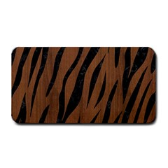 Skin3 Black Marble & Brown Wood (r) Medium Bar Mat by trendistuff