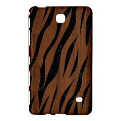 Skin3 Black Marble & Brown Wood (r) Samsung Galaxy Tab 4 (7 ) Hardshell Case  by trendistuff