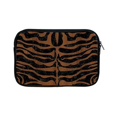 Skin2 Black Marble & Brown Wood Apple Ipad Mini Zipper Case