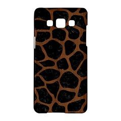 Skin1 Black Marble & Brown Wood (r) Samsung Galaxy A5 Hardshell Case  by trendistuff