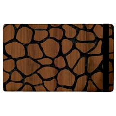 Skin1 Black Marble & Brown Wood Apple Ipad Pro 12 9   Flip Case