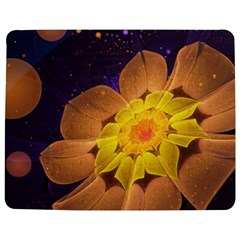 Beautiful Violet & Peach Primrose Fractal Flowers Jigsaw Puzzle Photo Stand (rectangular) by jayaprime
