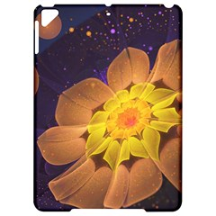 Beautiful Violet & Peach Primrose Fractal Flowers Apple Ipad Pro 9 7   Hardshell Case by jayaprime