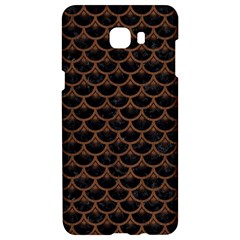 Scales3 Black Marble & Brown Wood Samsung C9 Pro Hardshell Case  by trendistuff