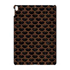 Scales3 Black Marble & Brown Wood Apple Ipad Pro 10 5   Hardshell Case by trendistuff