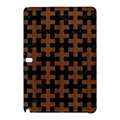 Puzzle1 Black Marble & Brown Wood Samsung Galaxy Tab Pro 10 1 Hardshell Case by trendistuff