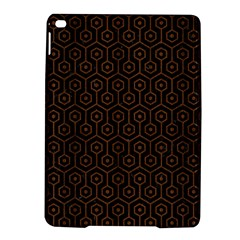 Hexagon1 Black Marble & Brown Wood Apple Ipad Air 2 Hardshell Case by trendistuff