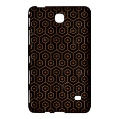 Hexagon1 Black Marble & Brown Wood Samsung Galaxy Tab 4 (8 ) Hardshell Case  by trendistuff