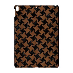 Houndstooth2 Black Marble & Brown Wood Apple Ipad Pro 10 5   Hardshell Case by trendistuff