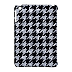 Houndstooth1 Black Marble & Brown Wood Apple Ipad Mini Hardshell Case (compatible With Smart Cover) by trendistuff