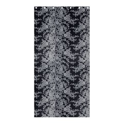 Black Floral Lace Pattern Shower Curtain 36  X 72  (stall)